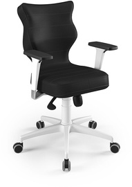 Entelo Perto White Office Chair VE01 Black