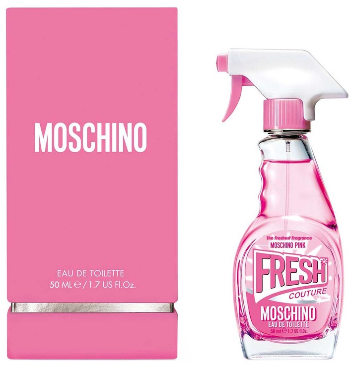 Tualettvesi Moschino Pink Fresh Couture 50 ml, EDT