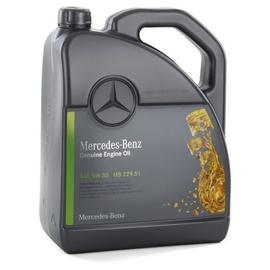 Mootoriõli Mercedes-Benz 5W - 30, sünteetiline, sõiduautole, 5 l