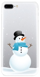 TakeMe Special Design Back Case For Samsung Galaxy J6 Plus J610 Snowman