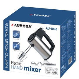 Mikser Aurora AU4096, must/roostevaba teras