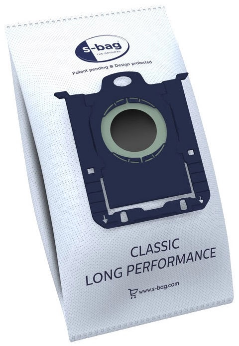 Dulkių siurblio maišeliai Electrolux S-Bag Classic E201SM, 12 vnt.