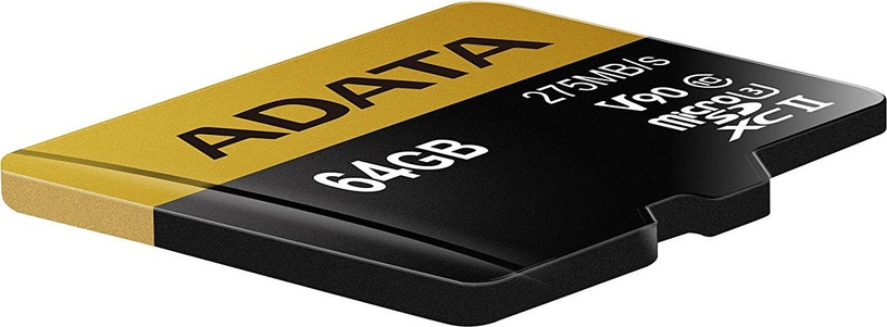 Adata 64GB Premier One microSDXC Class 10 UHS-II U3 + Adapter