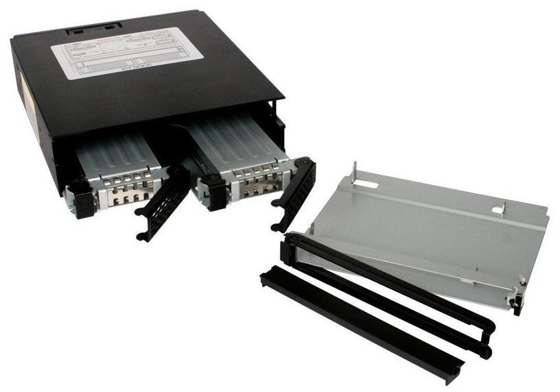 "Icy Dock ToughArmor MB994IPO-3SB 2x2.5"" SAS / SATA + Slim ODD"