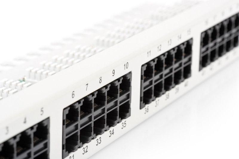 Digitus CAT3 ISDN Patch Panel 50-Port DN-91350-1