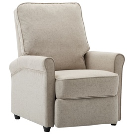 Tugitool VLX Recliner Chair, kreemjasvalge, 88 cm x 70 cm x 96 cm
