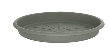 Поддон для вазона Domoletti STTE0040-125, серый, 400 мм