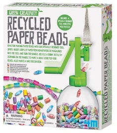 4M Green Creativity Recycled Paper Beads 4588