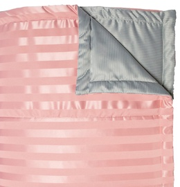 Home4you Grey & Rose Bedspread 240x240cm Pink/Gray
