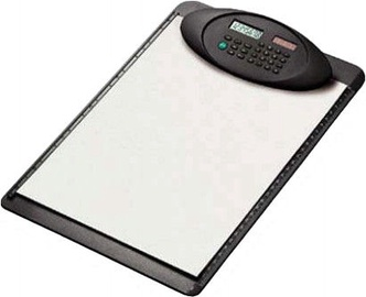 Genie 10215. Document Holder A4 with Calculator