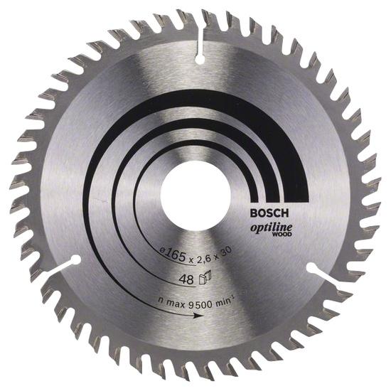 Disks ripzāģa 165x30mm Optiline Wood