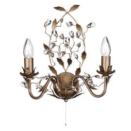 Sienas lampa Searchlight Almandite 2492-2BR E14 2x40W