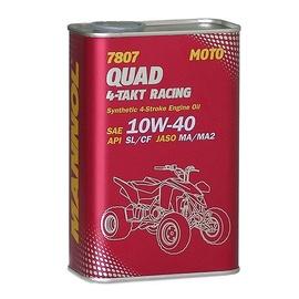 4 taktu sintētiska motoreļļa Mannol Quad Racing,1l