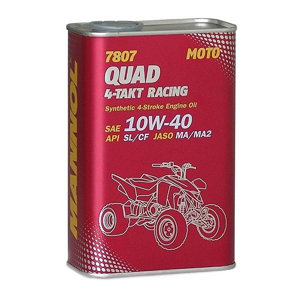 Automobilio variklio tepalas Mannol Quad 4-Takt Racing, 10W-40, 1 l