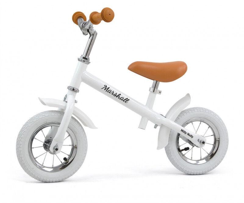 Balansinis dviratis Milly Mally Marshall Air White