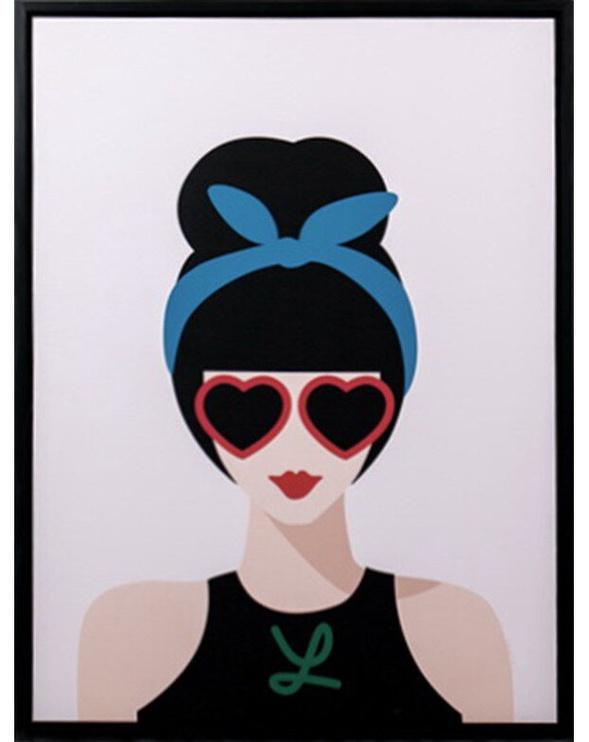 Mondex Woman 1 Painting 45x60x4cm