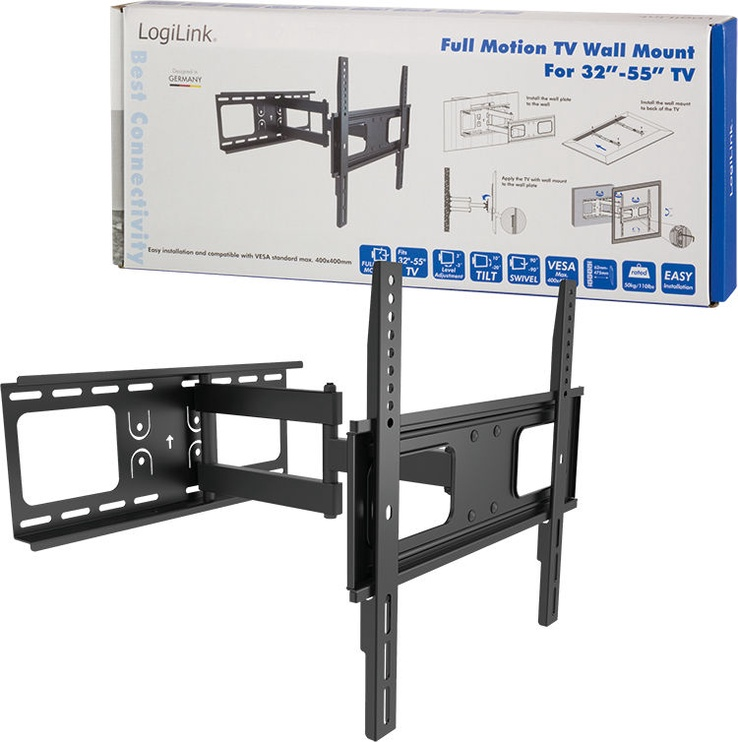"LogiLink BP0015 TV Wall Mount 32–55"""