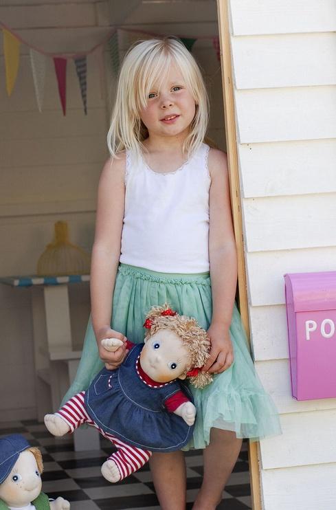 Тряпичная кукла Rubens Barn Rubens Kids Doll Olivia 36cm