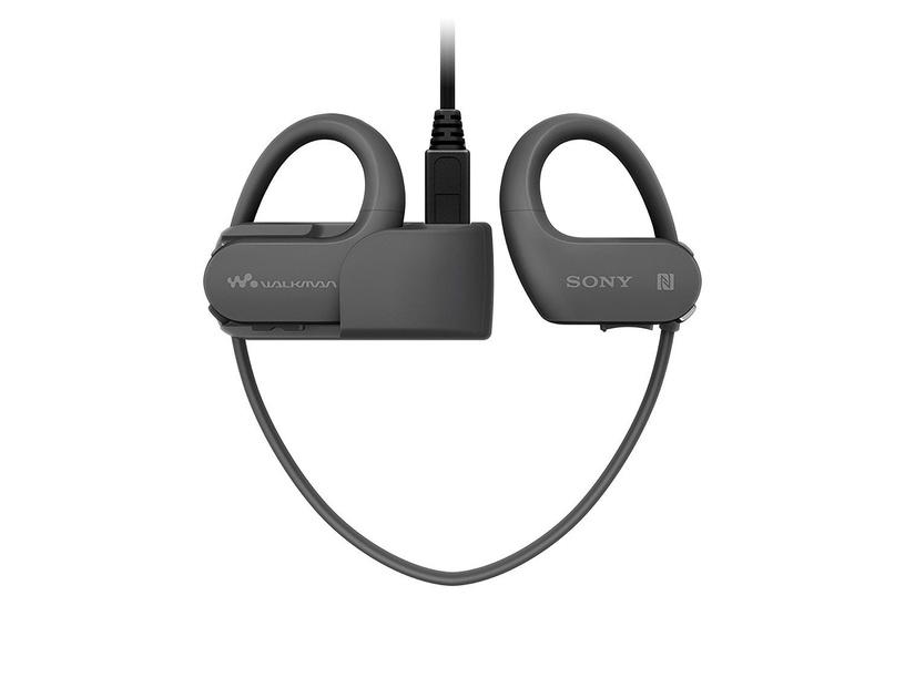 Музыкальный проигрыватель Sony Walkman NW-WS625, черный, 16 ГБ