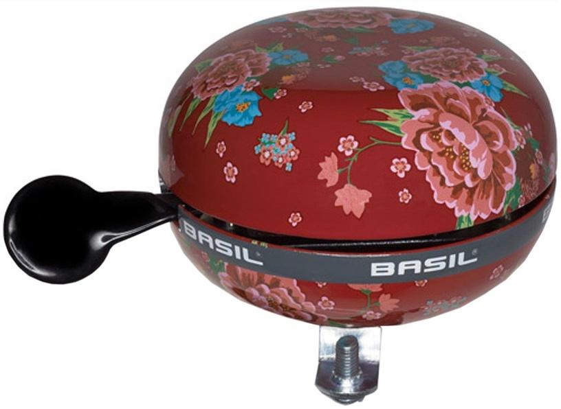 Basil Bloom Bike Bells Red