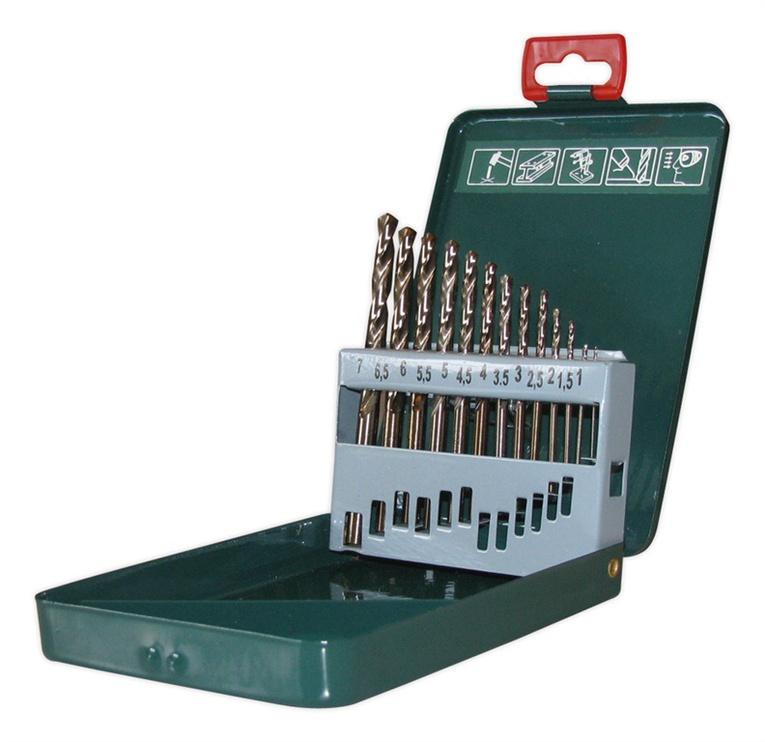 Urbju komplekts metālama Gražtai, 1-7mm, 13gab.