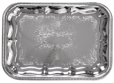 Fissman Serving Tray Chrome 34x25cm 9419