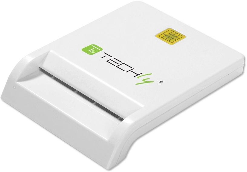 Techly 029150 Smart Card Reader White