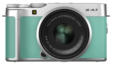 Fujifilm X-A7 + XC 15-45mm F3.5-5.6 OIS PZ Mint Green
