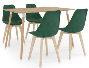 Обеденный комплект VLX Dining Set 287245/289155, зеленый