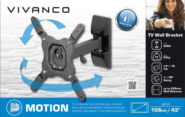 Vivanco TV Wall Bracket Motion BMO 6020