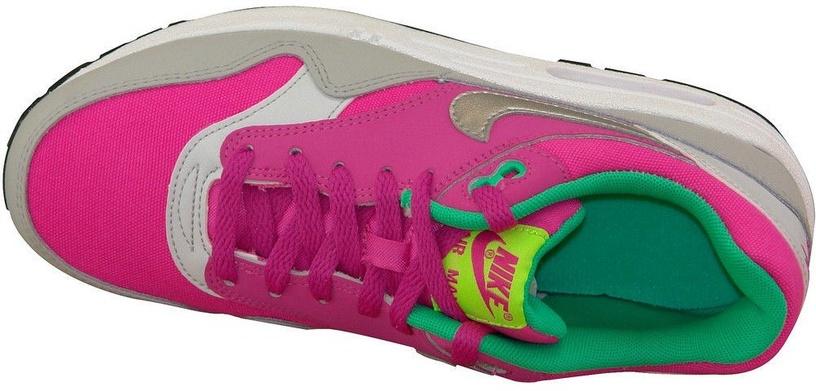 Nike Sneakers Air Max 1 Gs 653653-600 Pink 38.5