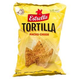 ESTRELLA TORTILLA sūrio skonio kukurūzų traškučiai 100g