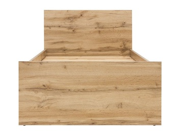 Gulta Black Red White Zele Wotan Oak, 204.5x95 cm