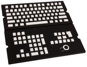 Corsair Gaming PBT Double-shot Keycaps Full 104/105 White