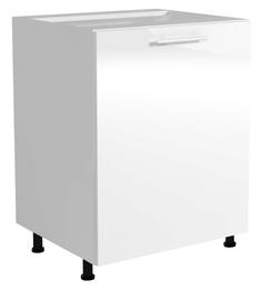 Нижний кухонный шкаф Halmar Vento D 60/82 White
