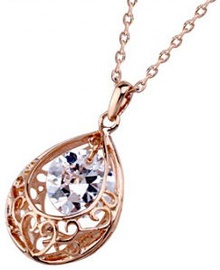 Vincento Pendant with Swarovski Elements CP-1181