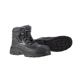 Pašiltinti darbo batai, juodi, 45 dydis