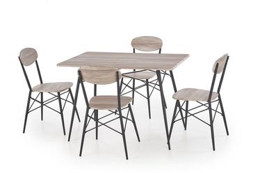 Valgomojo komplektas Kabir, 4 kėdės
