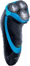 Philips Nivea AquaTouch Electric Shaver AT750/26 Black & Blue