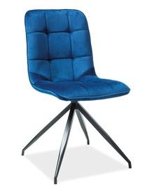 Стул для столовой Signal Meble Texo Velvet Blue, 1 шт.