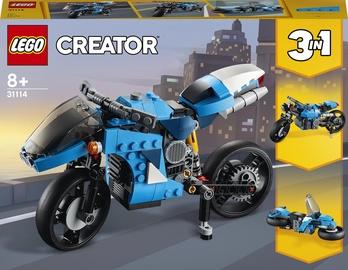 Конструктор LEGO Creator Супербайк 31114, 236 шт.