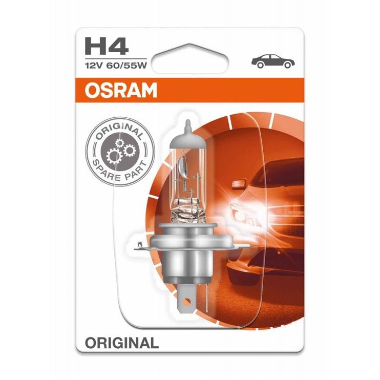 Автомобильная лампочка Osram Lamp 60/55W P43t 12V H4