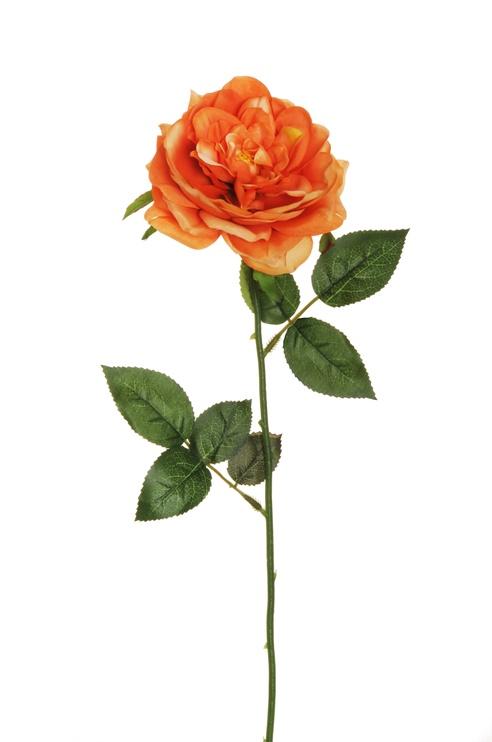 Artificial Flower Rose Orange 53 cm 80-354976