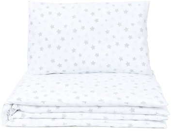 MamoTato Bedding Set Small Stars White 2pcs