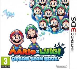 Игра Mario And Luigi: Dream Team Bros. 3DS