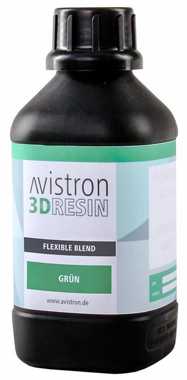 Расходные материалы для 3D принтера Avistron 3D Resin Flexible Blend, зеленый