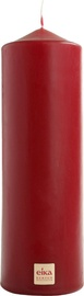 Eika Pillar Candle 21x7cm Bordo
