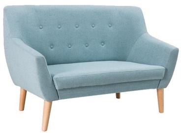 Dīvāns Signal Meble Nordic 2 Savana 72 Blue, 136 x 75 x 90 cm