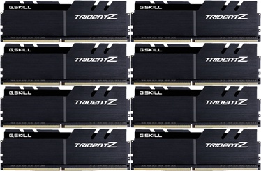 G.SKILL Trident Z Black Series 64GB 4000MHz CL18 DDR4 KIT OF 8 F4-4000C18Q2-64GTZKK