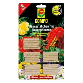 Trąšos žydintiems augalams Compo lazdelėmis, 30 vnt